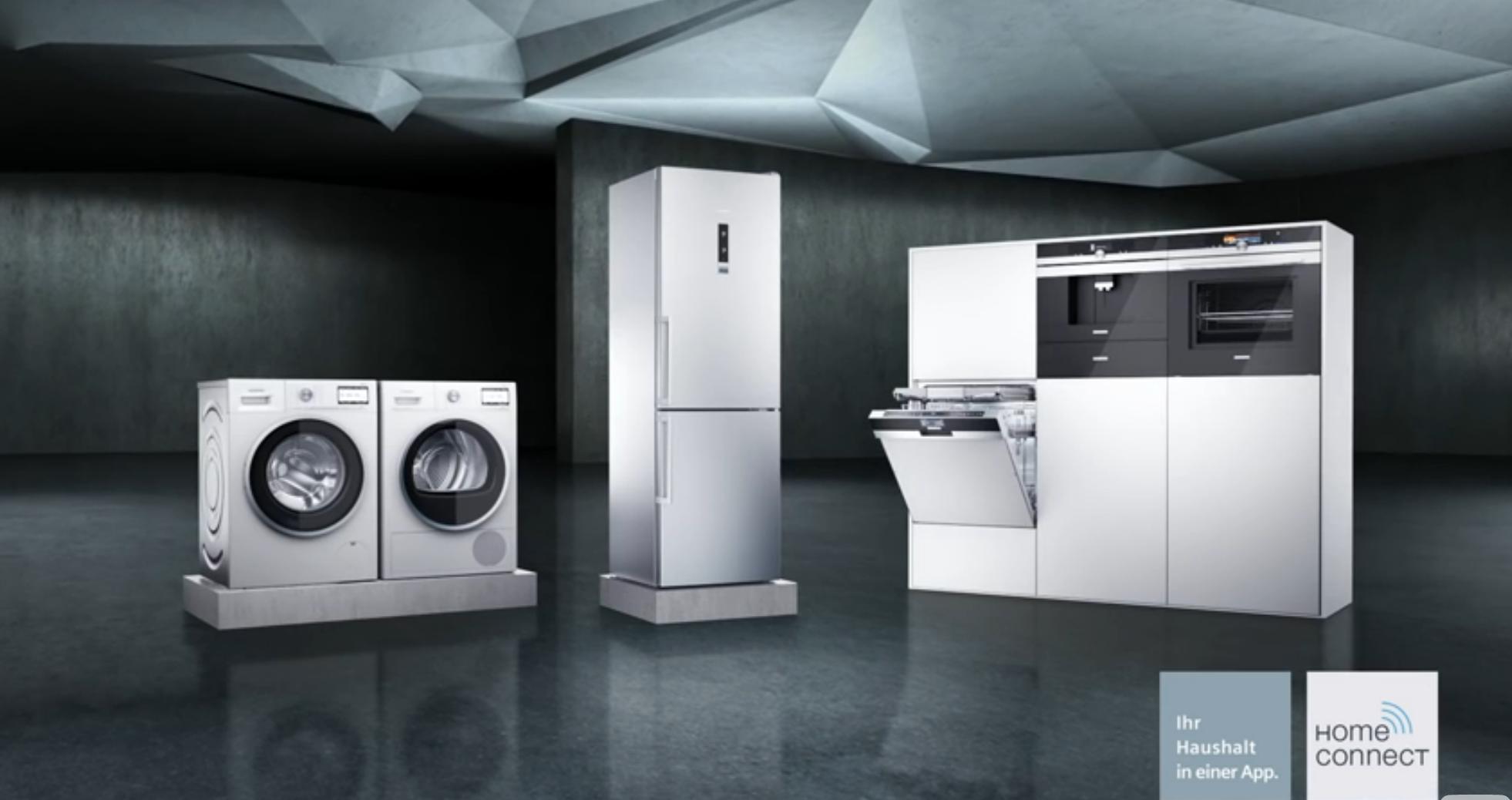 Siemens Retro Kühlschrank : Vernetzt siemens home connect demonstriert die vorteile von smart