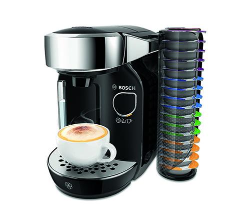 Die Bosch Kaffeemaschine TASSIMO CADDY TAS7002