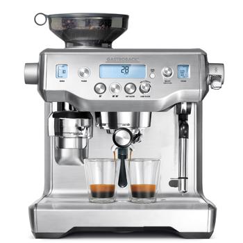 """Design Espresso Professional: Für ein echtes Barista-Feeling: """"Design Espresso Advanced Professional"""" von Gastroback."""