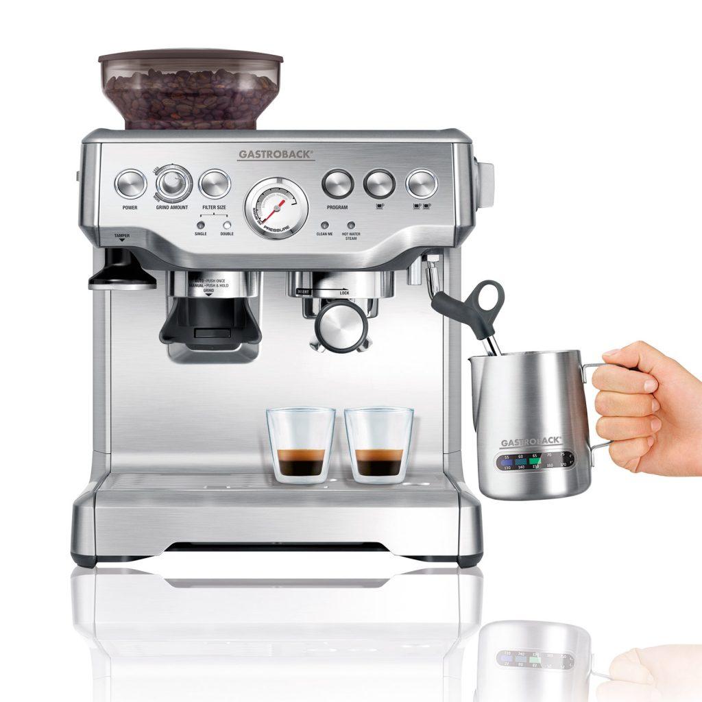 """Design Espreso Advanced: Der Nachfolger eines Bestsellers: """"Design Espresso Advanced Pro G s"""" von Gastroback."""