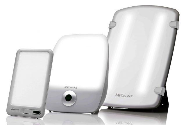 Medisana Tageslichlampe LT 460, LT 470, LT 480 spenden vitalisierendes Tageslicht.