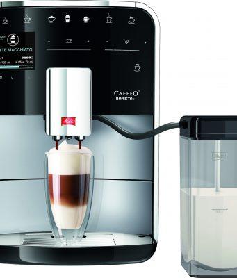 Der Melitta® Kaffeevollautomat CAFFEO Barista® T in Silber