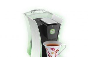Der Nestlé Teeautomat SPECIAL.T MY.T in Perlweiß