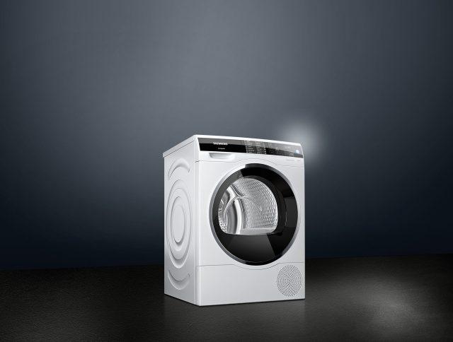Der Siemens Wäschetrockner avantgarde iSensoric in Wärmepumpen-Kondensationstechnologie