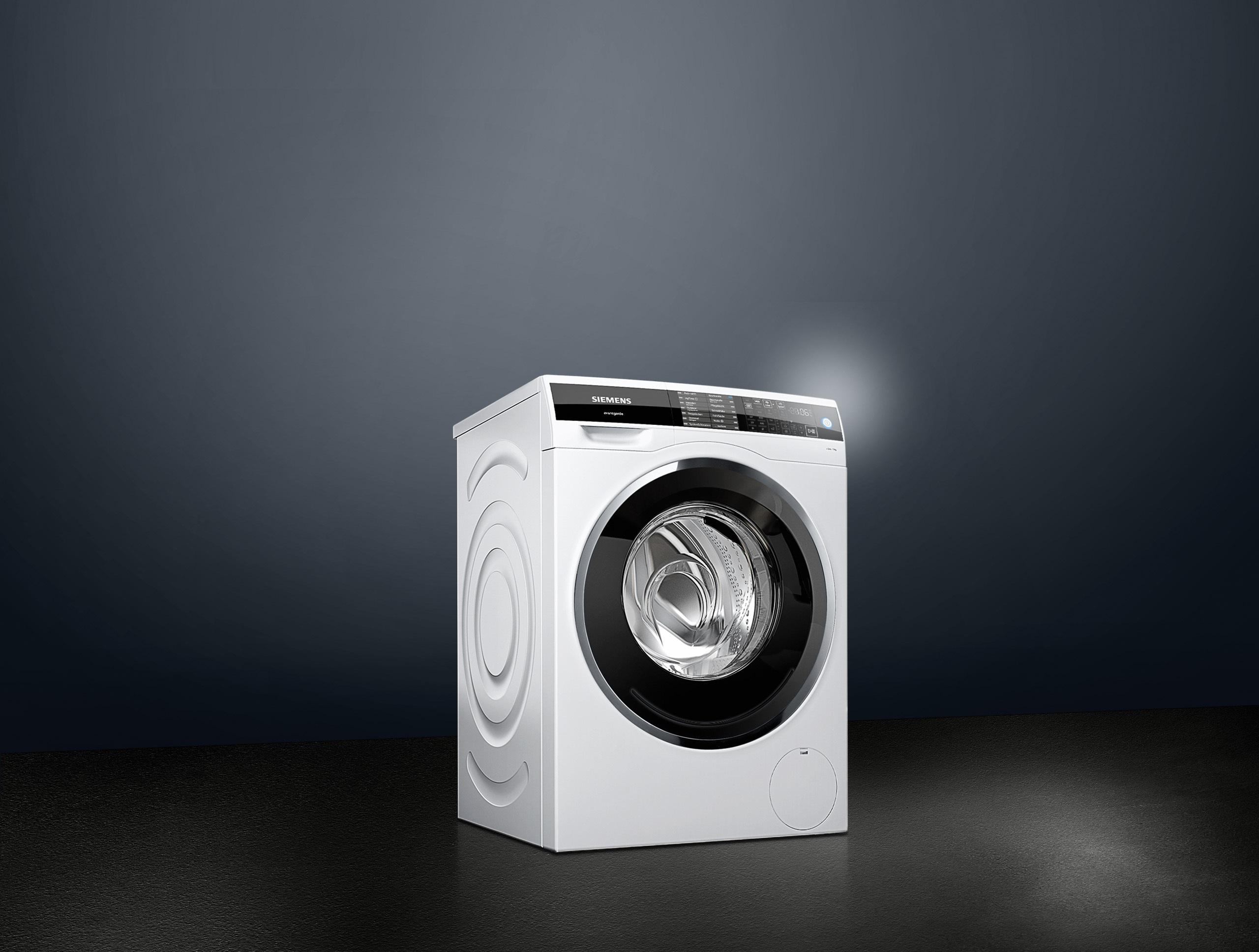 Siemens waschmaschine avantgarde isensoric