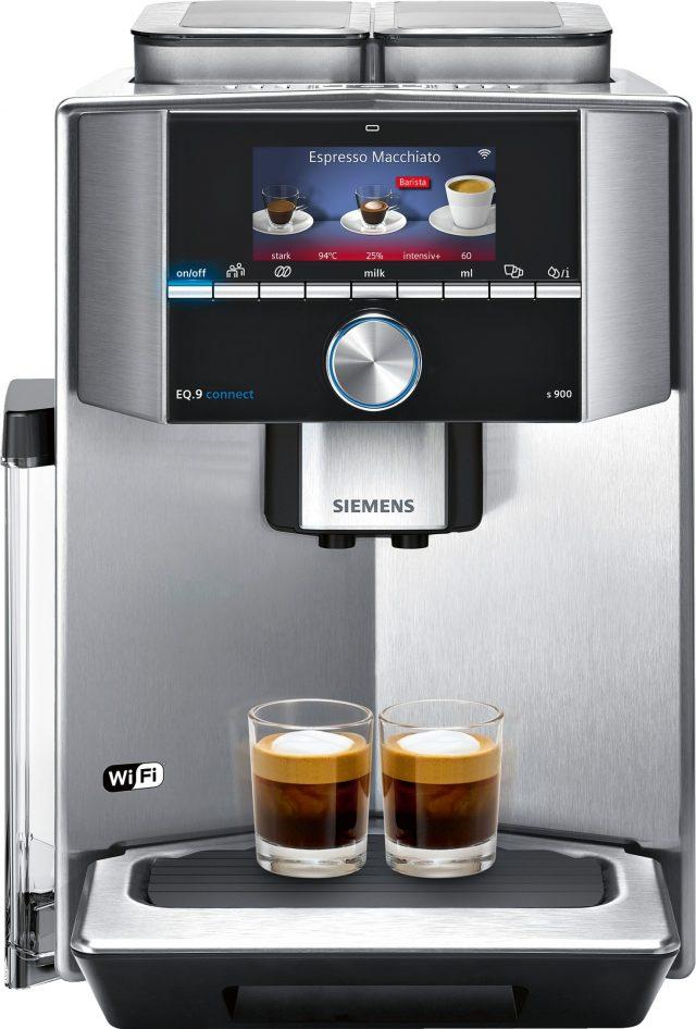 Der Siemens Kaffeevollautomaten EQ.9 connect