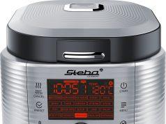 Steba Multicooker MC 850 mit 17 Kochprogrammen.