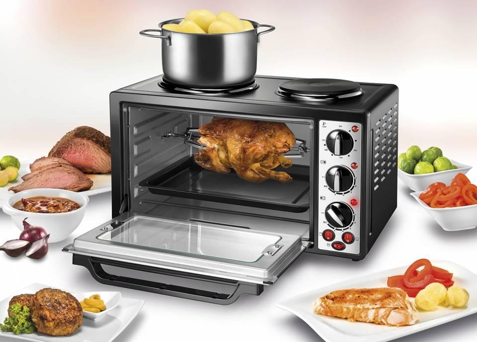 Unold Kochautomat Kleinküche Allround mit 28 Liter Fassungsvermögen.