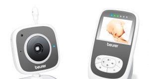 Verspricht die optimale Kontrolle: Babyphone BY 99 von Beurer.