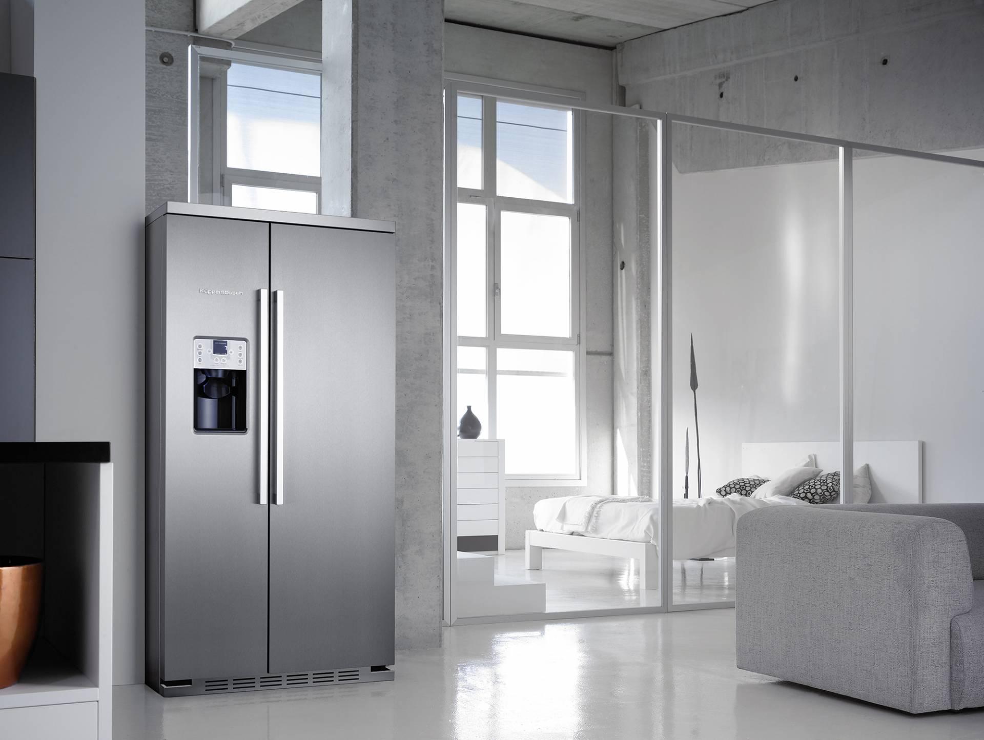 Mit Dem Küppersbusch Kühl/Gefrierkombination KE 9750 0 2T Gehören  überfüllte Kühlschränke Und Vollgestopfte Gefrierfächer Gehören Der  Vergangenheit An.