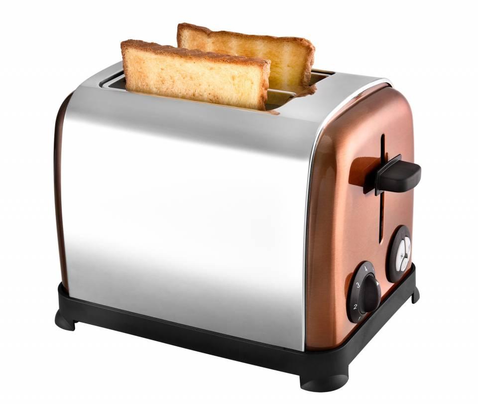 Kalorik Toaster TKG TO 1050 CO mit Toastzentrierung.