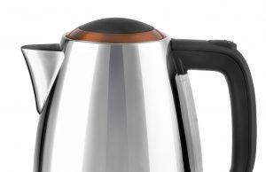 Kalorik Wasserkocher TKG JK 1050 CO mit Partikelfilter.