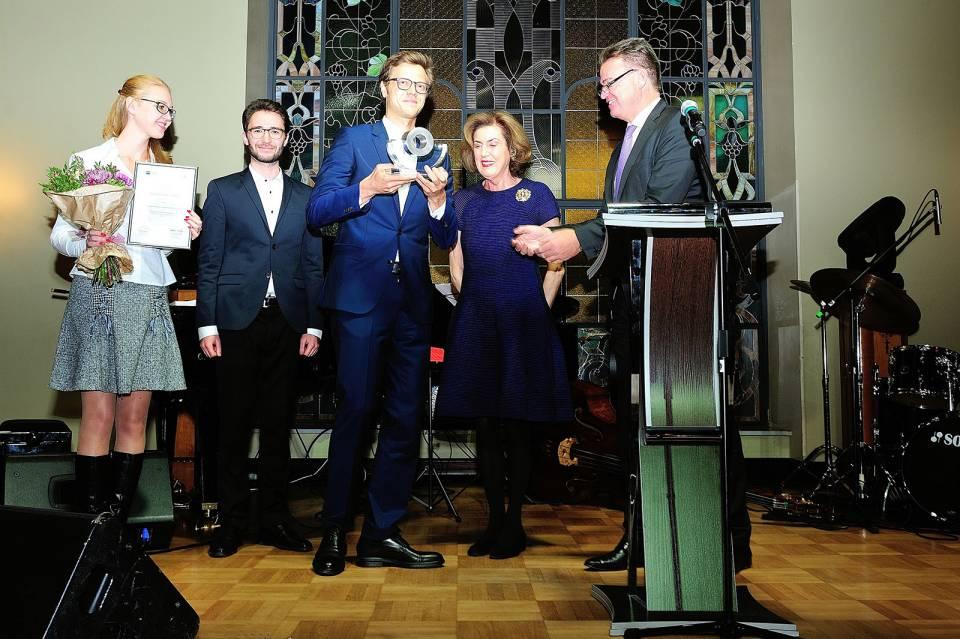 Preisverleihung in Moskau: Electrostar/Starmix gewann den Otto Wolff von Amerongen Mittelstandspreis der Deutsch-Russischen Auslandshandelskammer.