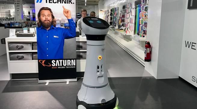 Saturn Ingolstadt: Der erste Assistenzroboter Paul