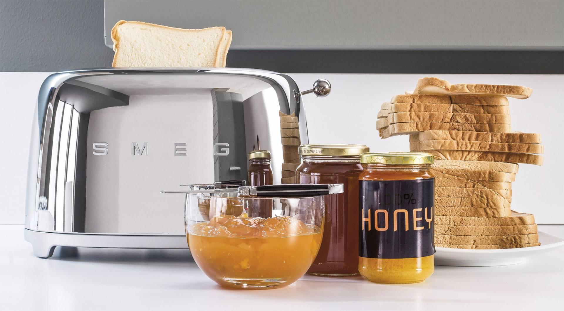 Smeg Kühlschrank Dolce Gabbana Preis : Smeg toaster tsf01
