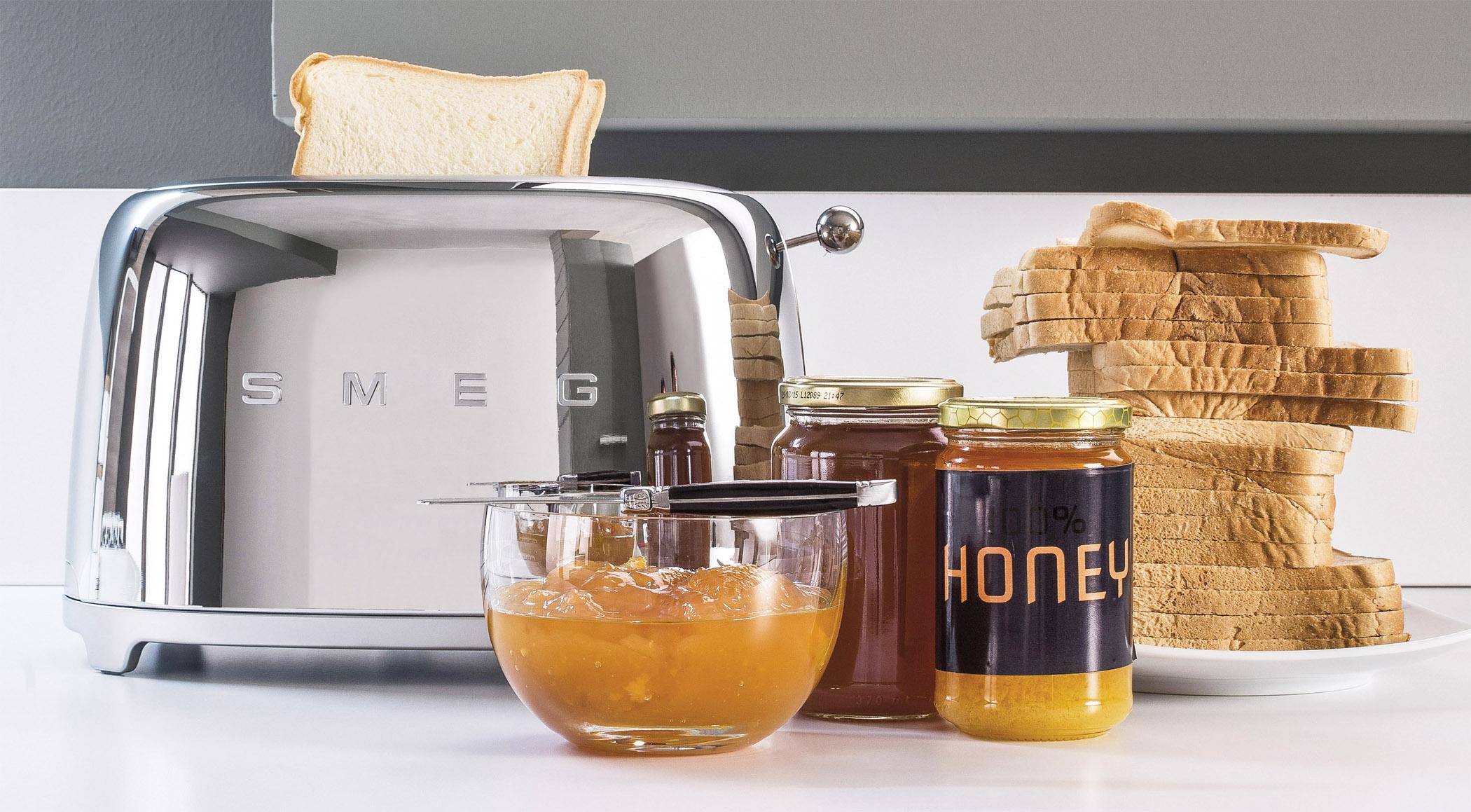 Smeg Kühlschrank Dolce Gabbana Preis : Smeg toaster tsf