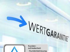 Wertgarantie-Qualität mit TÜV-Siegel.