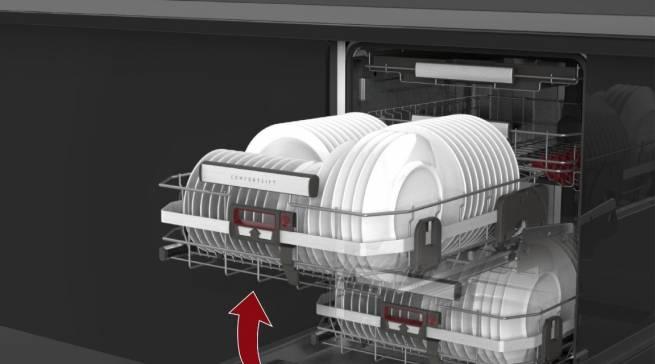 Geschirrspülmaschinen mit ComfortLift AEG
