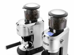 De'Longhi Kaffeemühle Dedica mit Siebträgeradapter.