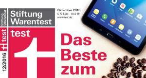 Titel Stiftung Warentest 12/2016