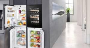 Liebherr bietet für die Integration in die 4 x 88er Nische ein neuartiges, modulares System mit flexiblen Lagermöglichkeiten.