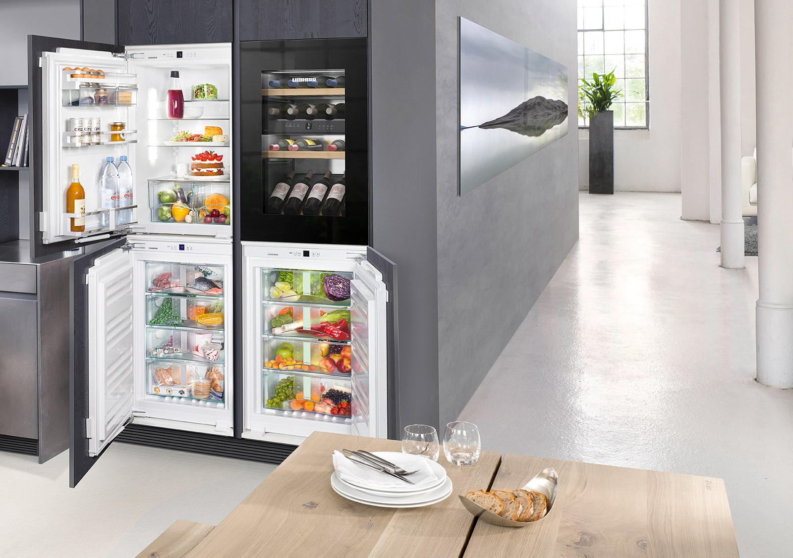 Retro Kühlschrank Liebherr : Liebherr modulares frische center