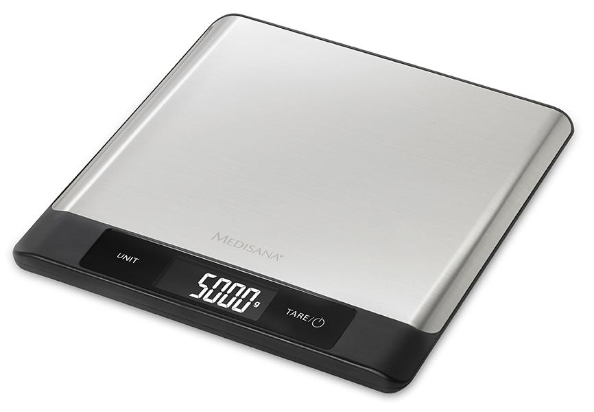 Medisana Küchenwaage KS 230 mit Sensor-Touch Tastenfeld.