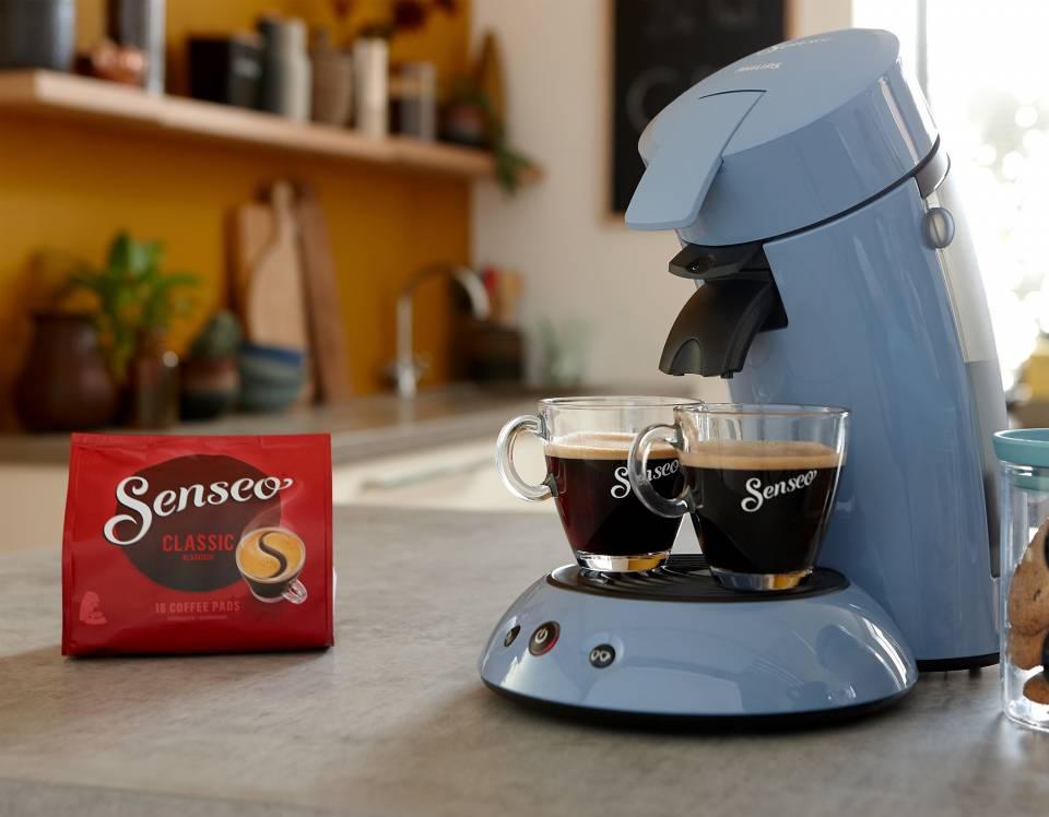Philips Kaffeemaschine Senseo Original HD7817/70 mit Kaffee Boost Technologie.