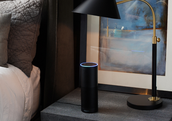 Amazon Echo. Bild: Amazon