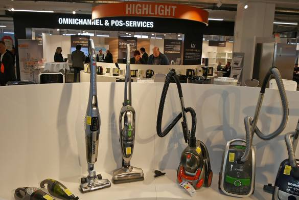 """Der Beratungsbereich """"Omnichannel-PoS-Service"""" war der Fixpunkt auf der Frühjahrsmesse EK LIVE."""