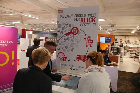 Voll praxistauglich: Der digitale Kiosk.