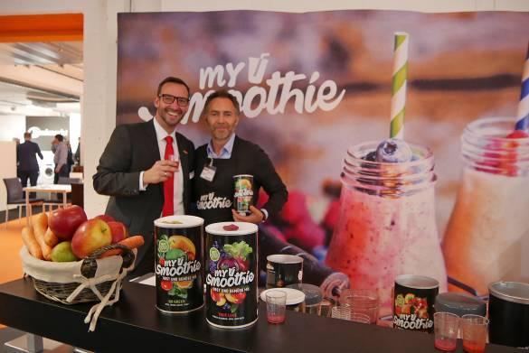 MySmoothie: Mit gefriergetrocknetem Obst und/oder Gemüse zum perfekten Smoothie in Sekundenschnelle