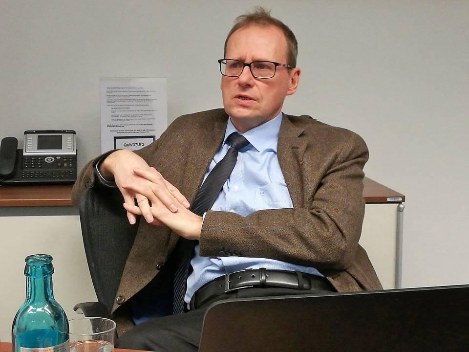"""""""2017 ist ein entscheidendes Jahr für die Branche"""", Werner Scholz, Geschäftsführer der ZVEI Hausgeräte-Fachverbände."""