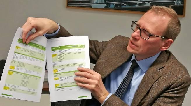 """""""Das Umlabeln der Energieklassen wird eine große Herausforderung für Industrie und Handel"""", Werner Scholz."""