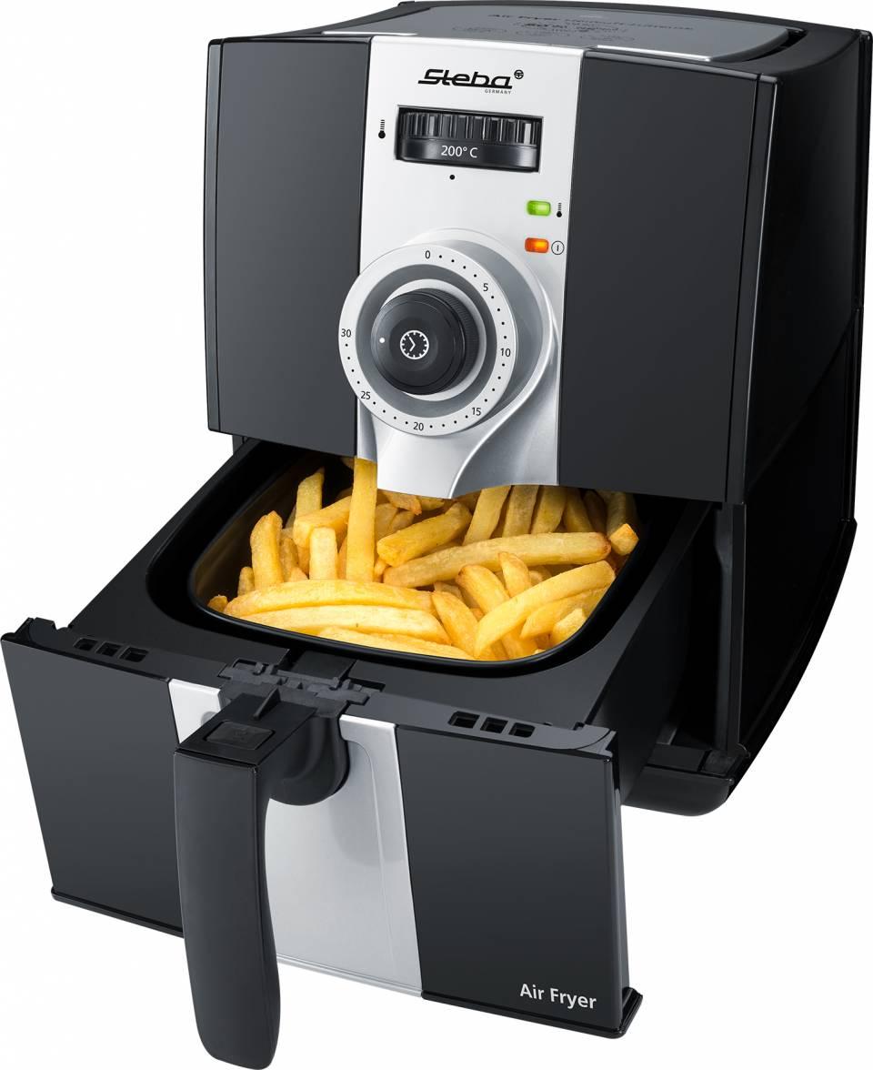 Steba Fritteuse HF 900 mit Heißluft-Technologie.