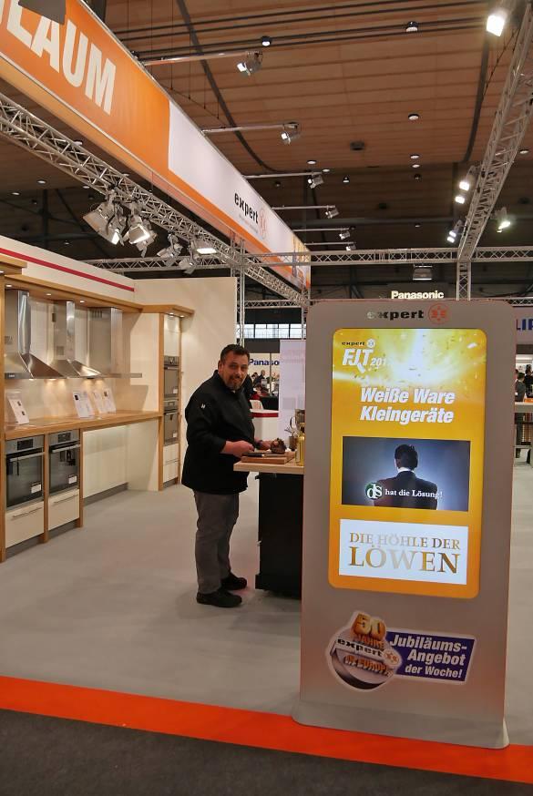 Christian Mittermeier, Gourmetkoch in Diensten der AEG, verzauberte mit lukullischen Köstlichkeiten.