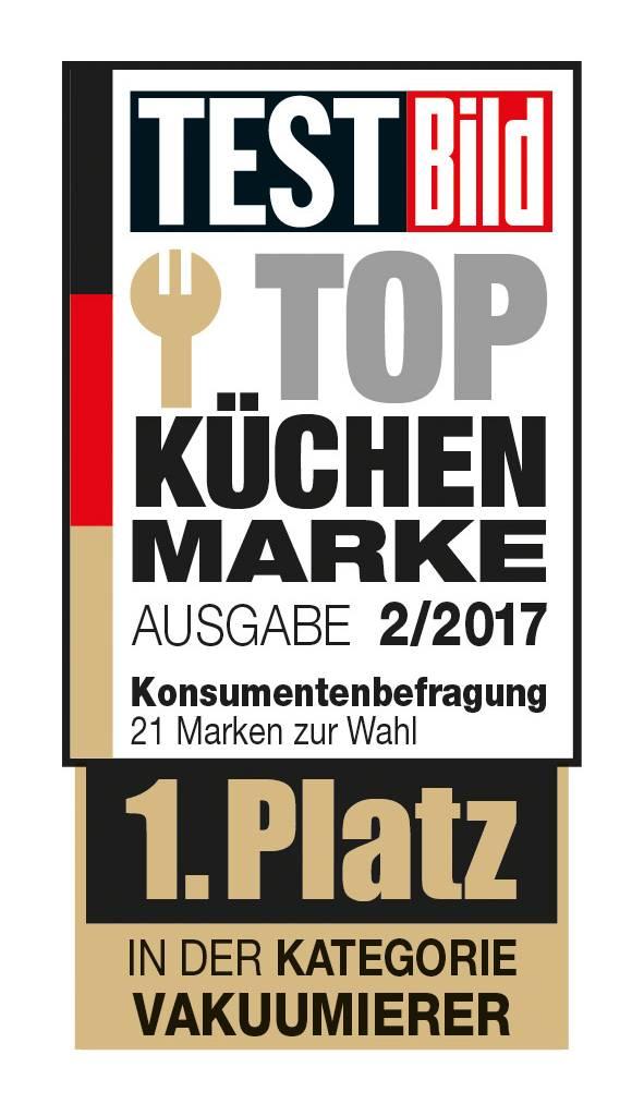 Siegel Top Küchen Marke 2017