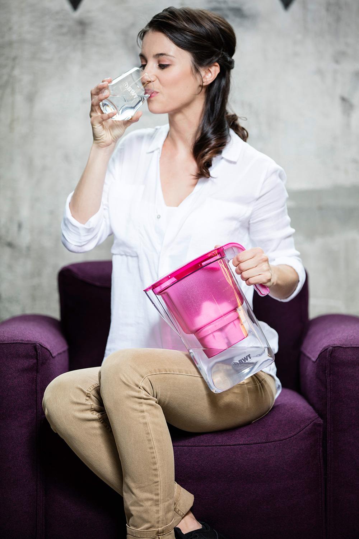 Ein Genuss: Gefiltertes und mit Magnesium mineralisiertes Wasser ist wohlschmeckend und weich.