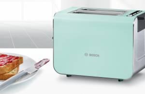 Bosch Toaster TAT8612 mit IndividualRoast Selection.