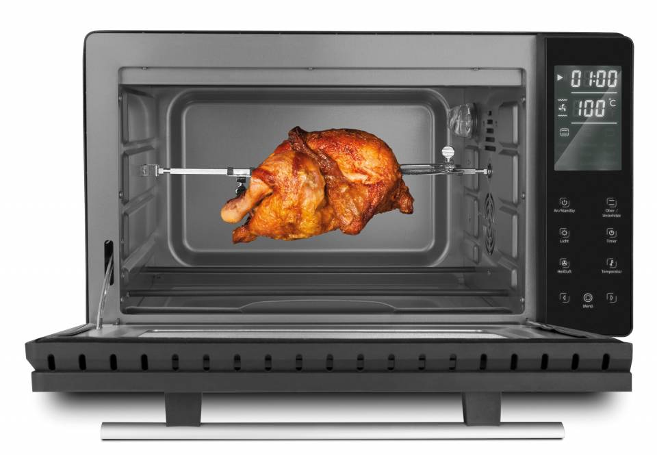 Caso Backofen TO 26 electronic mit 26 Liter Volumen.