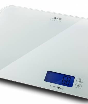 Caso Küchenwaage L20 mit bis zu 20 kg Tragkraft.