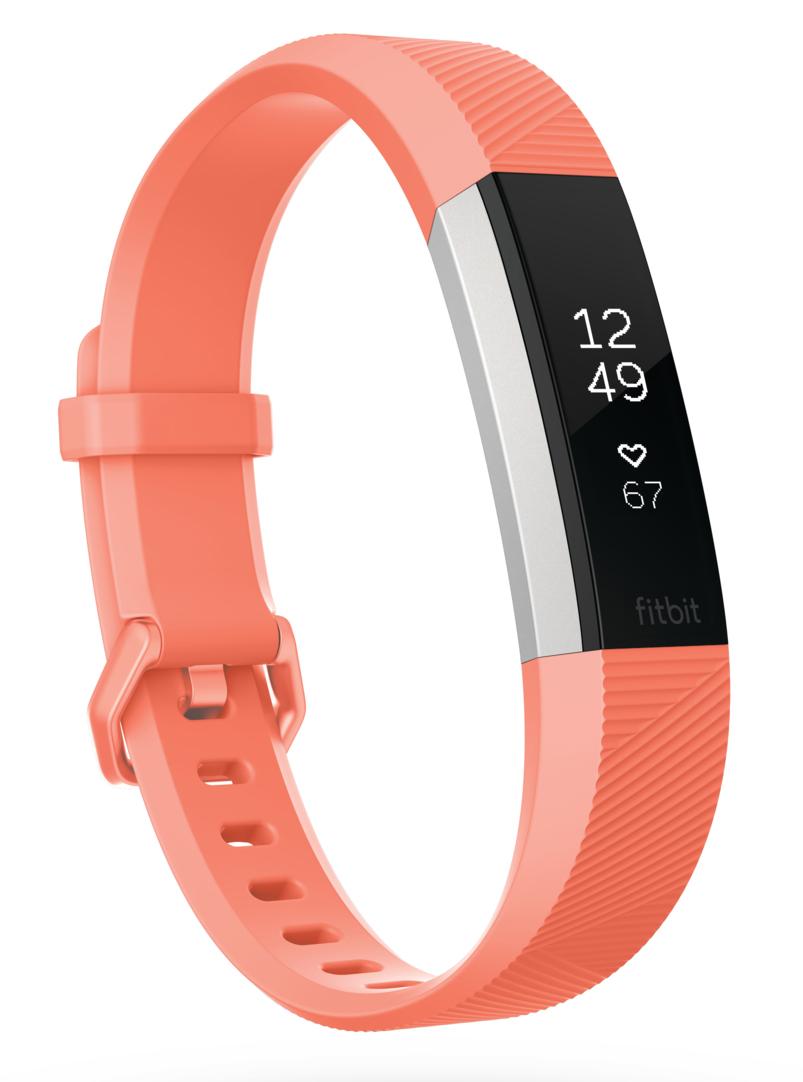 Fibit Fitness-Armband Alta HR mit SmartTrack-Funktion.