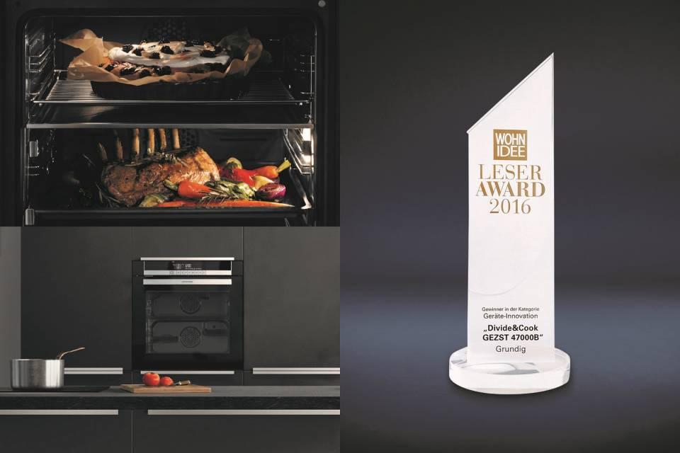Innovativ: Im Divide & Cook Ofen können zeitgleich zwei Gerichte zubereitet werden.