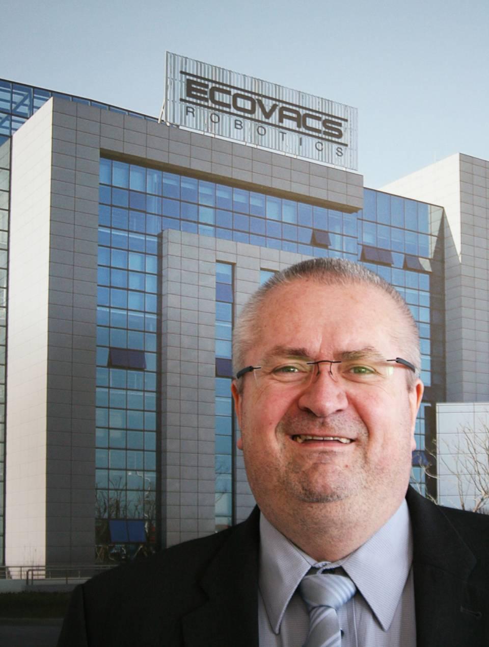 Arndt Kaufmann wechselt von LG zu Ecovacs Robotics.