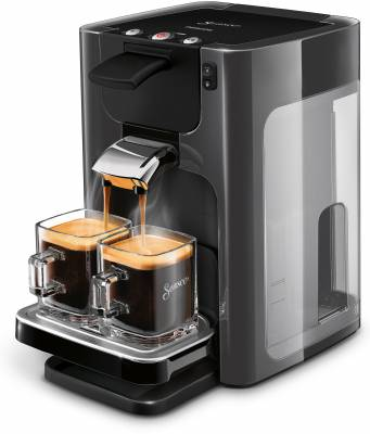 Die Philips Kaffeemaschine Senseo Quadrante HD7868/20
