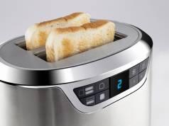 """Der Toaster Novea T2 von Caso lag im Vergleichstest des Magazins """"Haus & Garten Test"""" vorne."""
