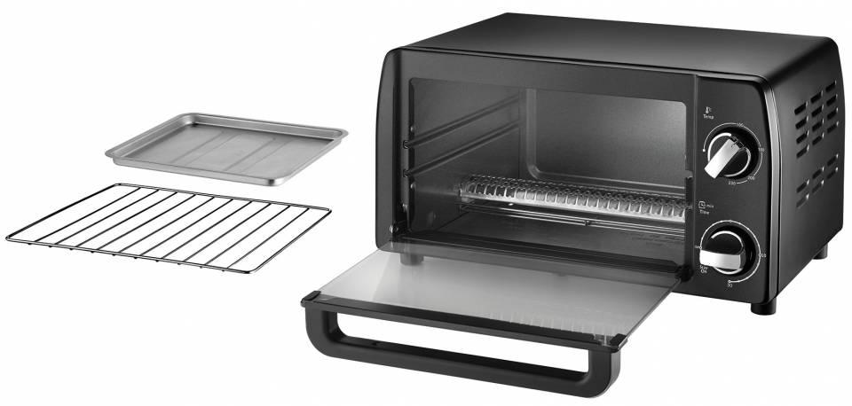 Unold Ofen Mini mit 9 Liter Volumen.