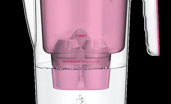 """Das Trend-Produkt bei BWT ist derzeit das Modell """"Vida"""" mit einer Kapazität von 2,6 Litern."""