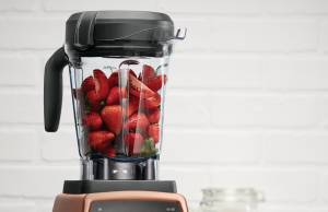 Vitamix Mixer Professional Series 750 als Sonderedition in Kupfer-Optik.