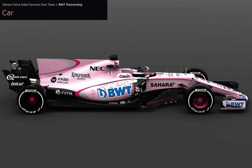 Rasante, weltweite Vermarktung: BWT steigt in die Formel 1 ein.